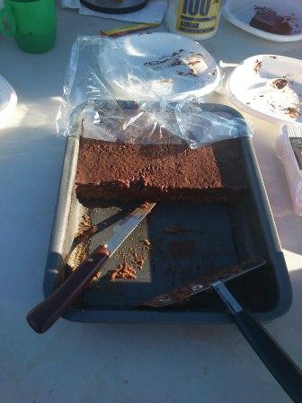 De postres: pastís de xocolate