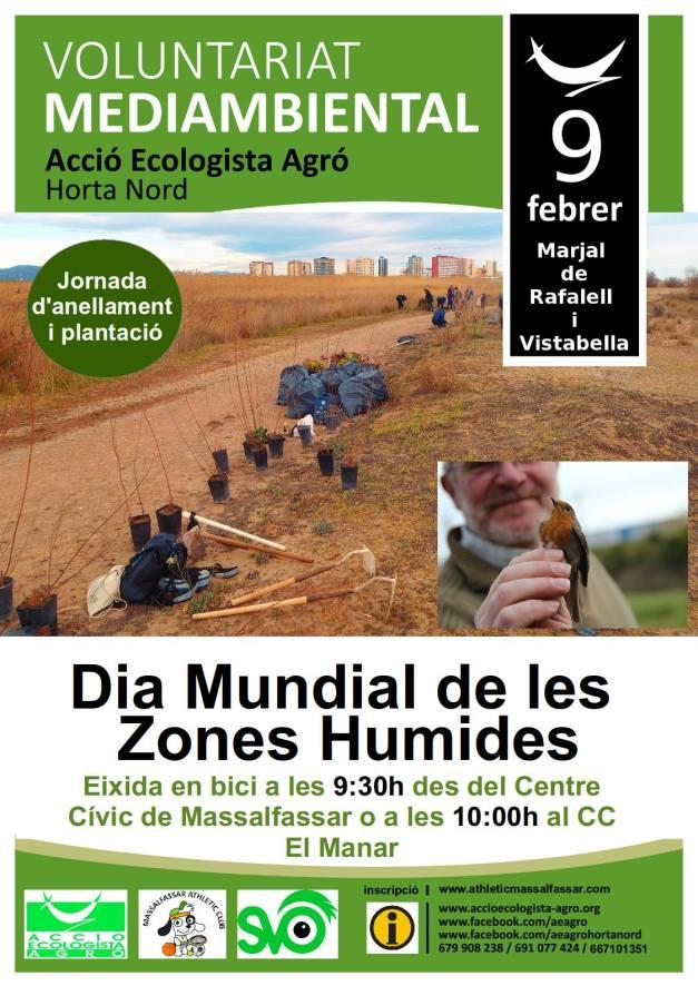 Cartell Dia de les Zones Humides 2014